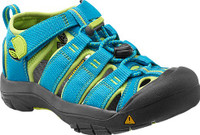 KEEN KIDS NEWPORT H2 - HAWAIIAN BLUE/GREEN GLOW