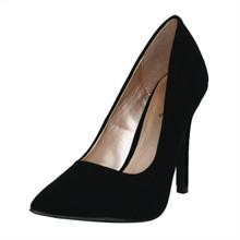 Qupid Pointy Toe Heel Pump