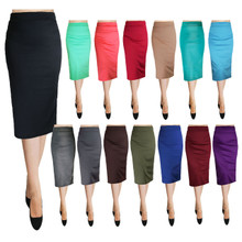 Ponti Bodycon Pencil Skirt