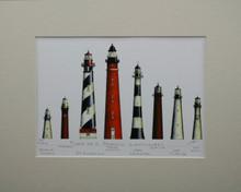 Florida's East Coast Lighthouse Print