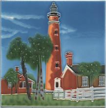 Ponce Inlet Lighthouse Tile/Trivet