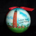 Ponce Inlet Lighthouse Ball Ornament