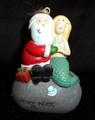 Santa & Mermaid Ornament