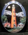 Ponce Lighthouse at Night Suncatcher
