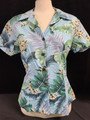 Ladies Hawaiian button up shirt