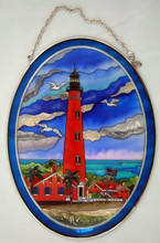 Custom Ponce Inlet Lighthouse Suncatcher