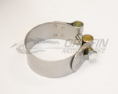 Stainless Steel Exhaust Clamp - Select Size