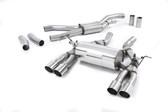 Milltek Sport BMW F80 M3/F82 M4 RACE Cat-Back Exhaust with Polished Tips