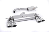Milltek Sport VW MK7 Golf R Valved, Resonated, Polished Oval Tip Cat-Back Exhaust