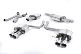 Milltek Sport Audi SQ5 3.0T Cat-Back Exhaust with Polished Quad Tips