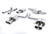 Milltek Sport Audi SQ5 3.0T Cat-Back Exhaust with Titanium Quad Tips