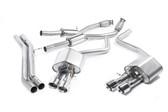 Milltek Sport Audi S8 4.0T Resonated Cat-Back Exhaust, Polished Tips