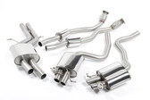 Milltek Sport Audi RS5 Catback Exhaust, Resonated Downpipes, Resonated Center