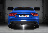 "Milltek Sport Audi RS7 Resonated Turbo-Back Exhaust with 2.75"" Downpipes (not legal for road use)"