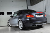 Milltek Sport BMW 135i Coupe Secondary Cat-Back System, Cerakote Black Tips