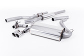 "Milltek Sport 428i ""OE Style"" Resonated Single Outlet Exhaust, Polished Tips, for Automatic Transmission"