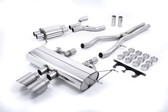 Milltek Sport F-Type S 3.0 V6 Coupe Valved Cat-Back Exhaust With Titanium Tips