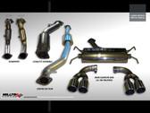 Milltek Sport Subaru Gen 3 Impreza WRX/STI Hatchback Turbo-Back with High Flow Sports Cat