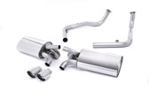 Milltek Sport Porsche Cayman S 987.2 Non-resonated Cat-Back Exhaust with Polished Tips