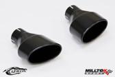 Milltek Sport Audi B8 S4/S5 80mm Black Oval Tip Kit