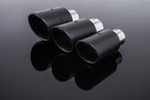 Milltek Sport Carbon Fiber Jet-100 Tips (To Fit 63.5mm OD Outlets)