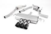 Milltek Sport Honda Civic Type R FK8 Cat-Back Exhaust, Part-Resonated Road+, Carbon Jet 100 Tips