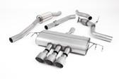 Milltek Sport Honda Civic Type R FK8 Cat-Back Exhaust, Part-Resonated Road+, Titanium Tips