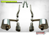 Milltek Sport Audi C6 A6 4.2 FSI Quattro, Non-Resonated Cat-back exhaust