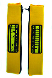 "Shoulder Pads 2"" Yellow w/Schroth Patch"