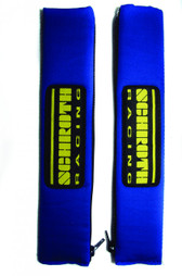"Shoulder Pads 2"" Blue w/Schroth Patch"