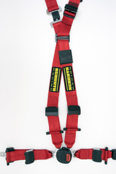 Schroth QuickFit Pro - E39 Red LEFT