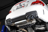 Milltek Sport BMW E82 1 Series M Coupe Primary Non-Resonated Catback (includes secondary cat bypass pipes)