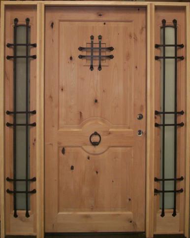 Door Knocker Door 36 Quot Prehung Rustic Style Entry Door W