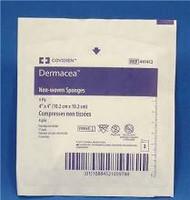 """DERMACEA STERILE NON-WOVEN GAUZE SPONGE 4""""X4"""" (PKG/50) CS/24 (MDT-441412)"""