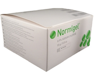 Molnlycke 371500 NORMLGEL 0.9% Isotonic Saline Gel , 15g TUBE BX/10