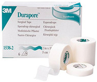 "3M 1538-2 Durapore Hypoallergenic Medical Tape 2"" x 10 yd"