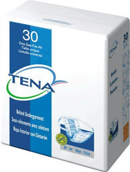 Tena 62900 Belted Undergarment Regular Absorbency, ONE SIZE FITS ALL (Case of 120)