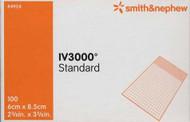 Smith & Nephew 4924 IV3000 STANDARD FIXATION Dressing, SIZE 6CM X 8.5CM BX/100 (SN-4924)