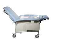 Drive Medical D577-BR Clinical Care Geri Chair Recliner, Blue Ridge