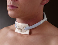 """Posey 8197M Tracheotomy Tie Foam neck 10 - 19"""" neck"""