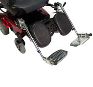 AE2500 - Power Wheelchair Elevating Legrest Bracket with Hemi Spacing by Drive Medical