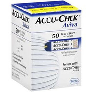 ACCU-CHEK AVIVA CARE Blood Glucose STRIPS BX/50 (06453970164)
