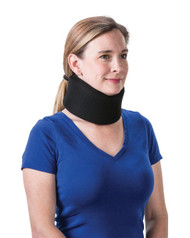 "Core Products CLR-6259 2"" Foam Cervical Collar Universal Black (CLR-6259)"