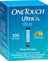 LifeScan 020245 OneTouch Ultra with FastDraw Design test Strips BX/100