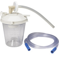 Drive 22330 Medical Universal Suction Machine Tubing and Filter Replacement Kit with Canister (Pack of 12)
