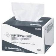 KIMBERLY CLARK KIMTECH SCIENCE PRECISION WIPER WIPES, 1-PLY, SMALL CS/60 (PKG/280) (KC 05511)