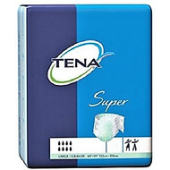 "TENA 67501 SUPER NIGHT BRIEFS, LARGE (122-150CM OR 48""-59"") GREEN (Case of 56)"