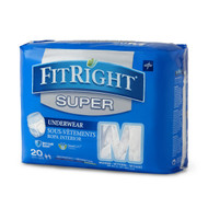 Medline FIT33505A UNDERWEAR,PROTECTIVE,SUPER,LARGE,40-56 CS 80/CS