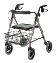 Medline G07887B GUARDIAN DELUXE ALUMINUM ROLLATOR,BLUE