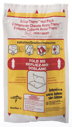 "Medline MDS138005 Accu-Therm Non-Insulated Hot Pack, 6"" x 10"" (Pack of 24)"